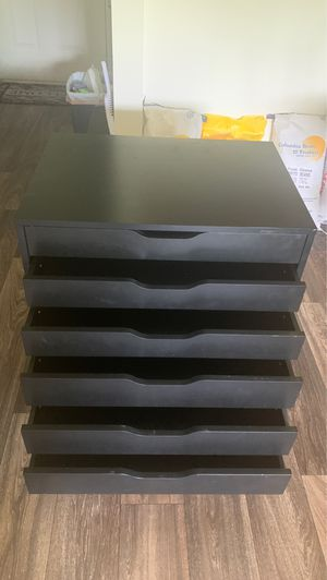6 drawer Alex ikea cabinet for Sale in Vancouver, WA
