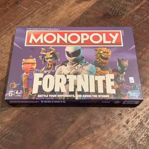 Monopoly Fortnite Edition Board Game for Sale in Plano, TX