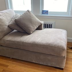 Crate And Barrel Chaise For Sale for Sale in Newton,  MA