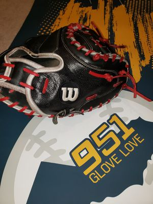 Wilson A2000 Superskin 33inch Custom Relaced and reconditioned for Sale in Riverside, CA