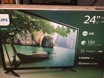 24 Inch Phillips 720p HDTV for Sale in Brownstown Charter Township,  MI
