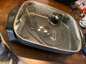 Electric Skillet for Sale in Rancho Cucamonga, CA