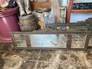 2 gorgeous 1920s wood hand carved frame mirrors for Sale in Los Angeles, CA