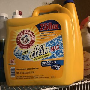 New 250 oz Oxi Clean Oxiclean Detergent Laundry Soap for Sale in Pittsburg, CA