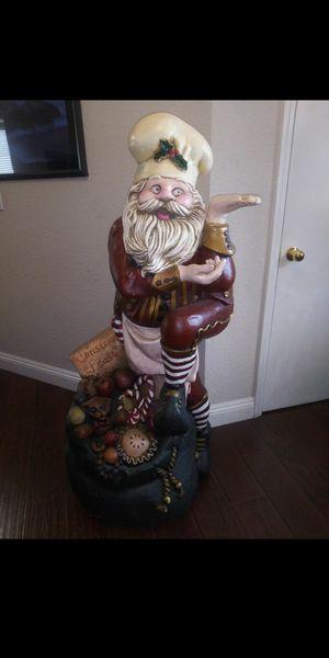 4 foot 10 inch Huge Santa Claus Display Piece for Sale in Elk Grove, CA