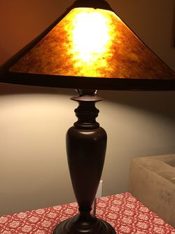 Amber Mica Table Lamp for Sale in Bellevue,  WA
