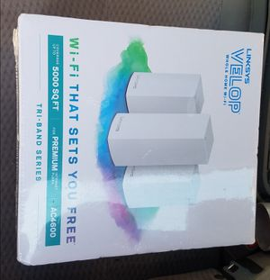 Linksys velop mesh 3 pack for Sale in Columbus, OH
