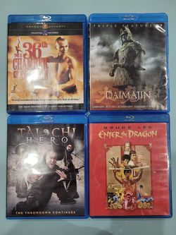 Daimajin Triple Feature and The 36th Chamber Of Shaolin Blu-ray Collector for Sale in El Paso,  TX