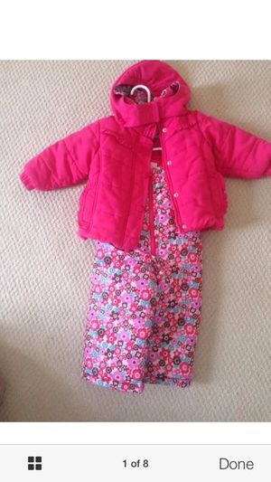 Osh kosh ski pants jacket winter set suit 12 mobths for Sale in Arlington, VA