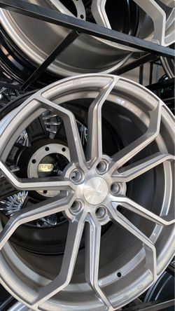 19 inch fly wheels 5x120 rims with tires full package for Sale in Troy,  MI