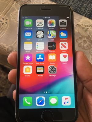 Like new condition iPhone 6 16 GB unlocked for T-Mobile MetroPCS AT&T cricket before you buy it for Sale in Santa Ana, CA
