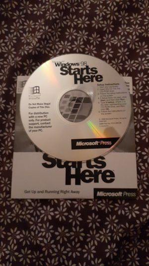 Windows 98 setup software for Sale in Hopewell, VA
