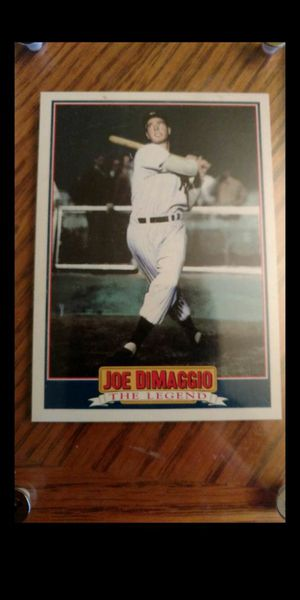 Joe DiMaggio baseball card for Sale in Kenmore, WA