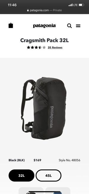 Patagonia backpack for Sale in Salt Lake City, UT