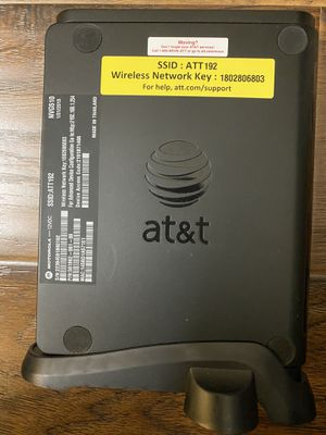 AT&T wi-fi modem for Sale in Los Angeles, CA