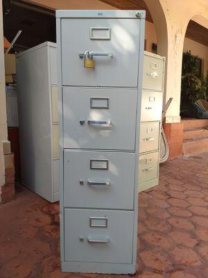 Three file cabinets for Sale in Miami, FL