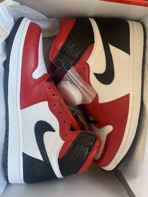 Jordan 1 Retro high satin snake Chicago -12 W for Sale in Marina del Rey, CA