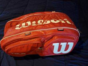 Wilson Tour V 15-Pack Red Tennis Bag for Sale in Los Angeles, CA