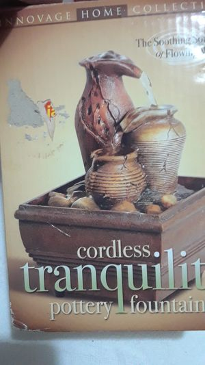 Cordless fountain for Sale in Grand Prairie, TX