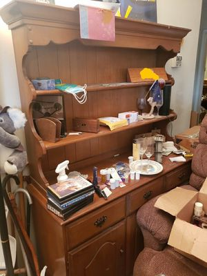 Wooden hutch for Sale in Lompoc, CA