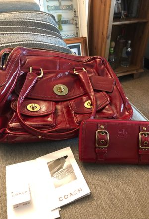 Coach Purse w/ matching Wallet for Sale in Fresno, CA