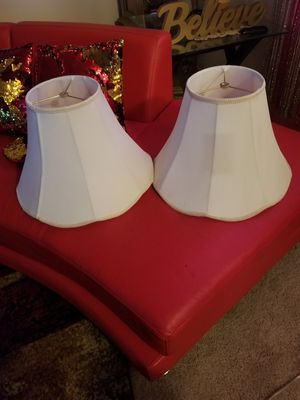 2 lamps shades for Sale in Kissimmee, FL