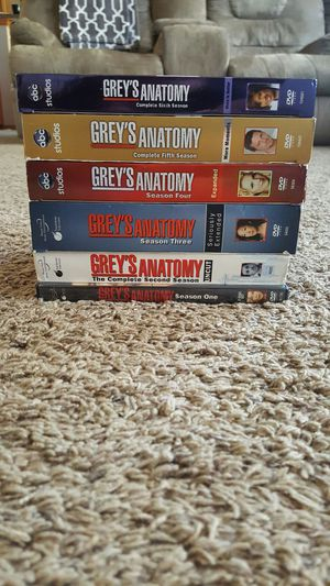 Greys season 1-6 for Sale in Fountain, CO