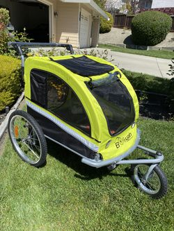 Please don't ask about availability. It is available. Booyah Large pet dog stroller and bicycle trailer. for Sale in San Ramon,  CA