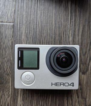 Like-New GoPro Hero4 Black for Sale in Seattle, WA