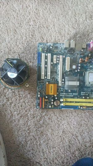 Mother board with cpu and stock cooler for Sale in Kennewick, WA