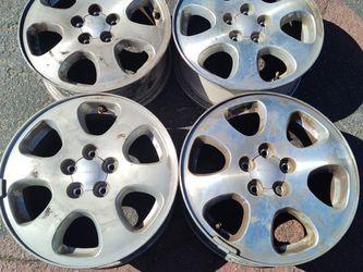 Subaru impreza legacy 15 inch aluminum wheels, 5 on 100mm for Sale in Montebello,  CA