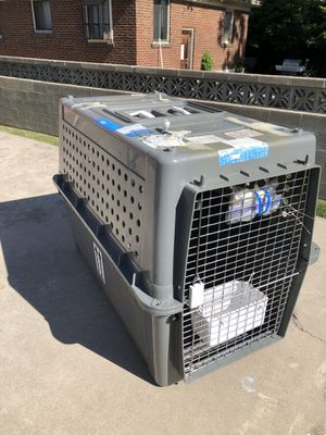 Large dog crate (IATA airplane approved) for Sale in Salt Lake City, UT