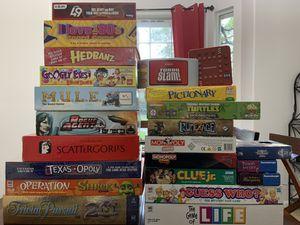 Lot of Board Games for Sale in San Antonio, TX