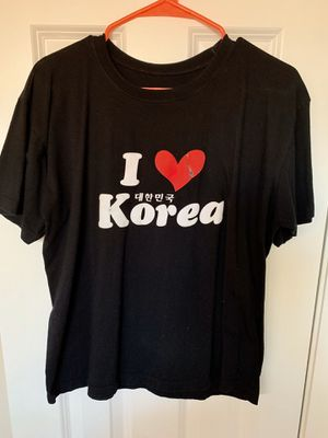 """Graphic Tee """"I love Korea"""" for Sale in Annandale, VA"""