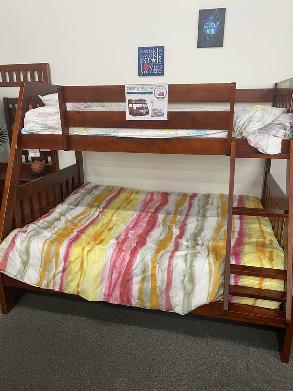 MUST GO!!! Used Bunk Bed w/ 2 night stands and Tall dresser