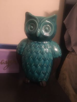 Ceramic Owl for Sale in Holly Springs, NC