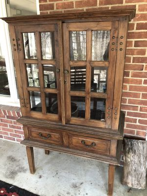 Gorgeous Glass Door Cabinet from Mohr and McPherson for Sale in Sudbury, MA