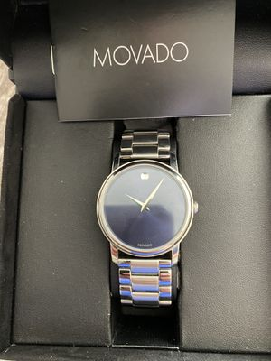 New men's movado watch beautiful retails at $895 for Sale in Montoursville, PA