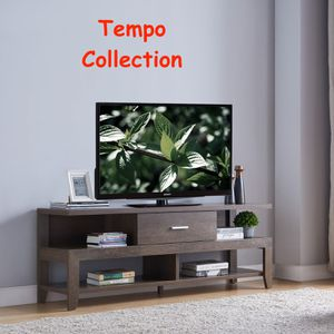 NEW, TV Stand up to 70in TV, Walnut Oak, SKU# 192471 for Sale in Huntington Beach, CA