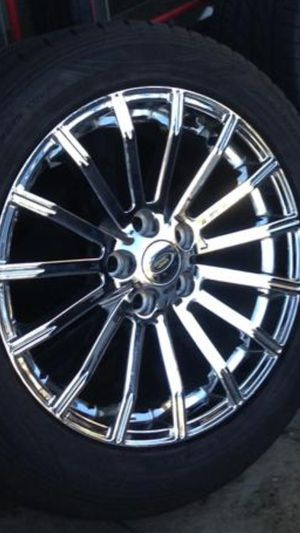 Rims and tires for range Rover for Sale in Glendale, CA