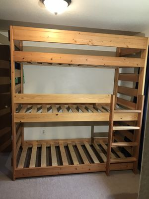 Custom Triple Bunk Bed for Sale in Lake Tapps, WA