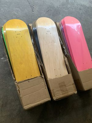 Skateboard decks maple wood for Sale in Los Angeles, CA