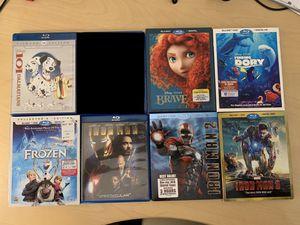 Disney and Marvel Blu-ray Assortment for Sale in Maricopa, AZ