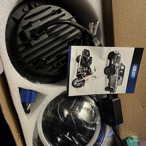 7' LED Head Lights for Wrangler, Rubicon And JL for Sale in Milwaukie, OR