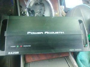 Power acoustic razor 2500D digital amp for Sale in Columbus, OH
