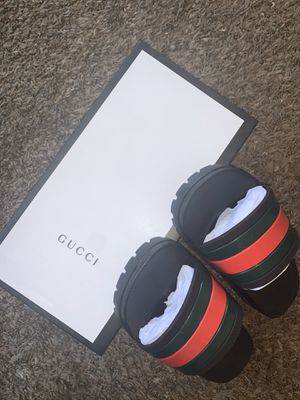 Authentic Women's Gucci Slides for Sale in Los Angeles, CA