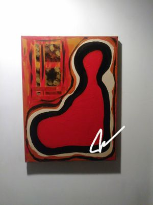 Hand-painted original abstract art for Sale in Beverly Hills, CA