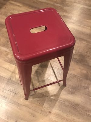 Two Stools, berry color for Sale in Austin, TX