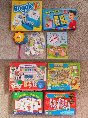 Educational puzzles and games for Sale in Issaquah, WA