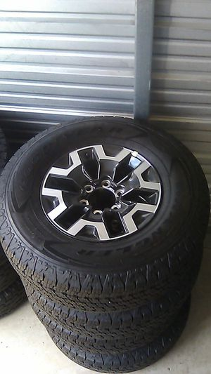 BRAND NEW rims and tires for Sale in Portland, OR